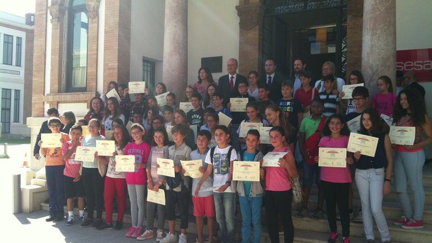 Escolares malagueños participan en el proyecto Emprenautas