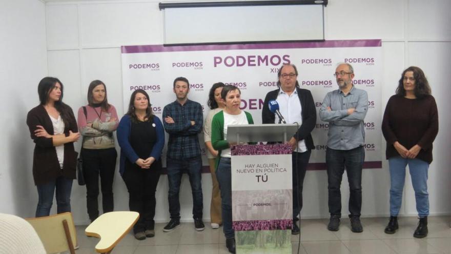 Huergo hace un llamamiento a la unidad interna tras vencer en las primarias de Podemos en Gijón