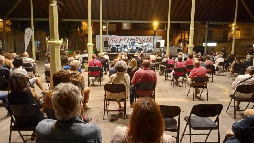 Òmnium Cultural, l'ANC i el CDR animen a la participació de l'11-S a Figueres