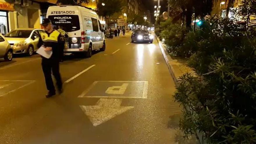 Heridos dos niños en un atropello en la avenida València de Castelló
