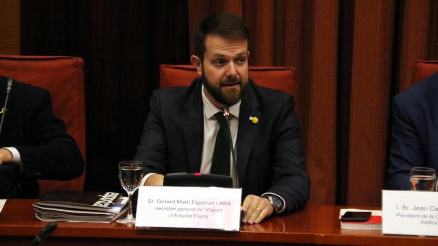 Detingut el secretari d'Esports de la Generalitat per una trama de desviament de fons