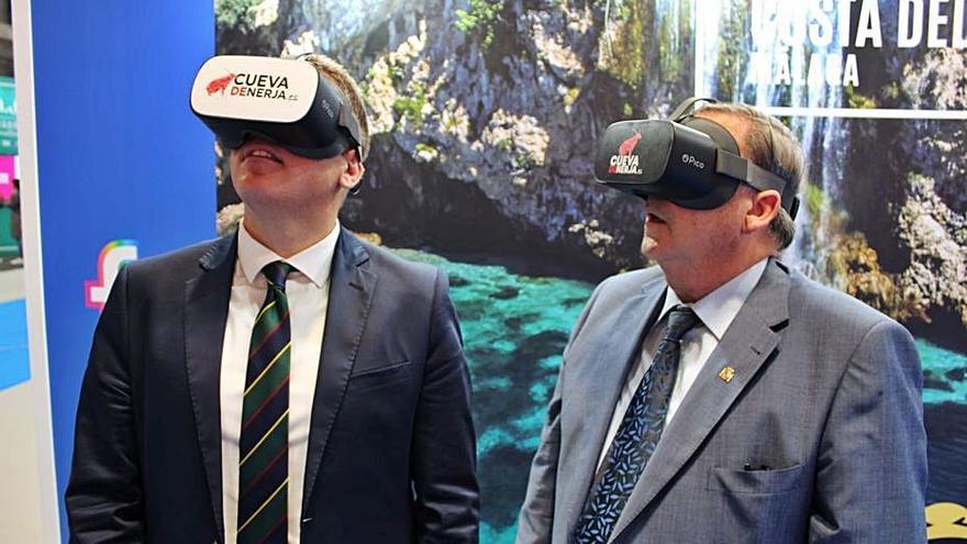 Realidad virtual para conocer los rincones de la Cueva de Nerja