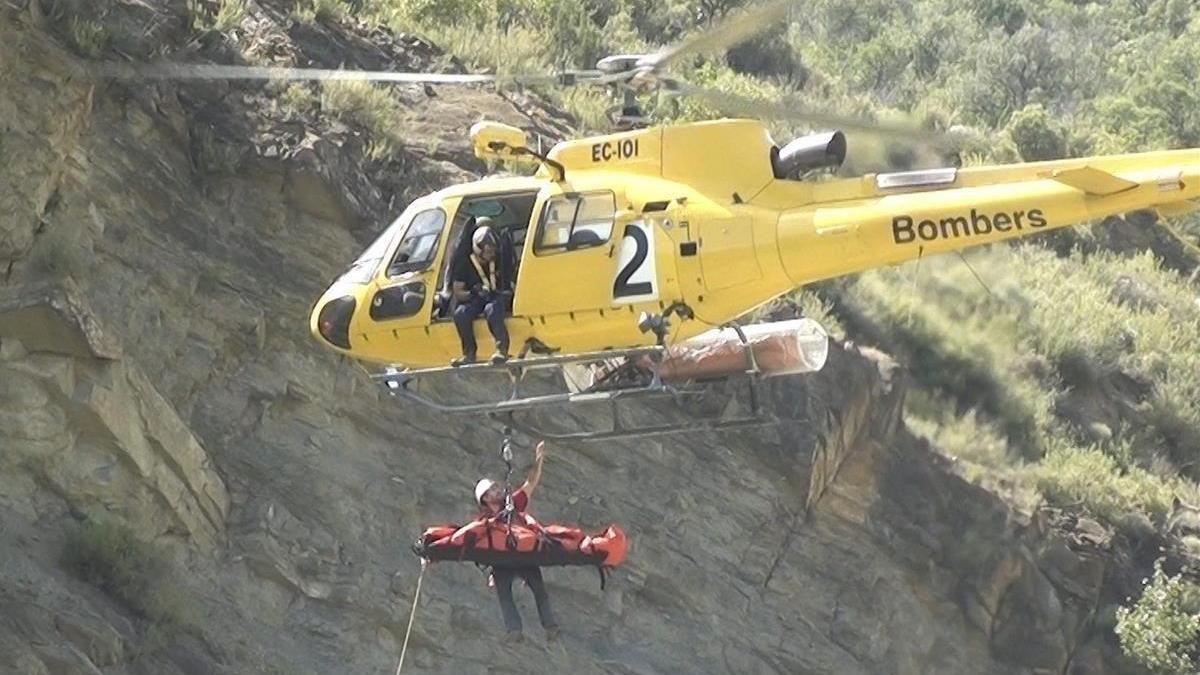 Una excursionista muere al precipitarse por un barranco en la Vall de Boí