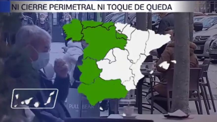 Ahora que dejan salir de Galicia, ¿a qué comunidades puedes viajar y en qué condiciones?