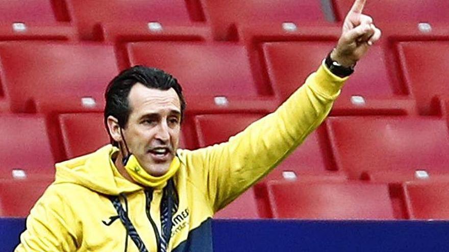"""Emery: """"Marcamos pocos goles y es lo que debemos solventar"""""""