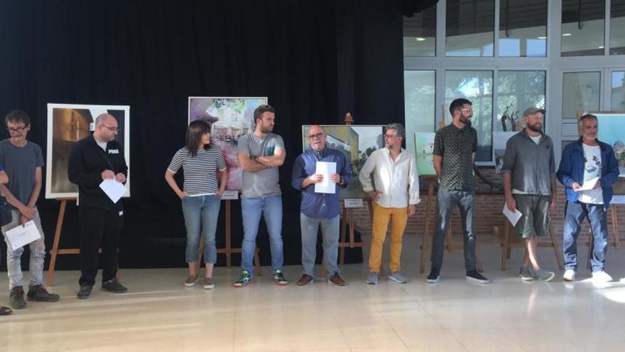 """Antonio Caballero gana el Concurso de Pintura Rápida """"Villa de Ibi"""""""