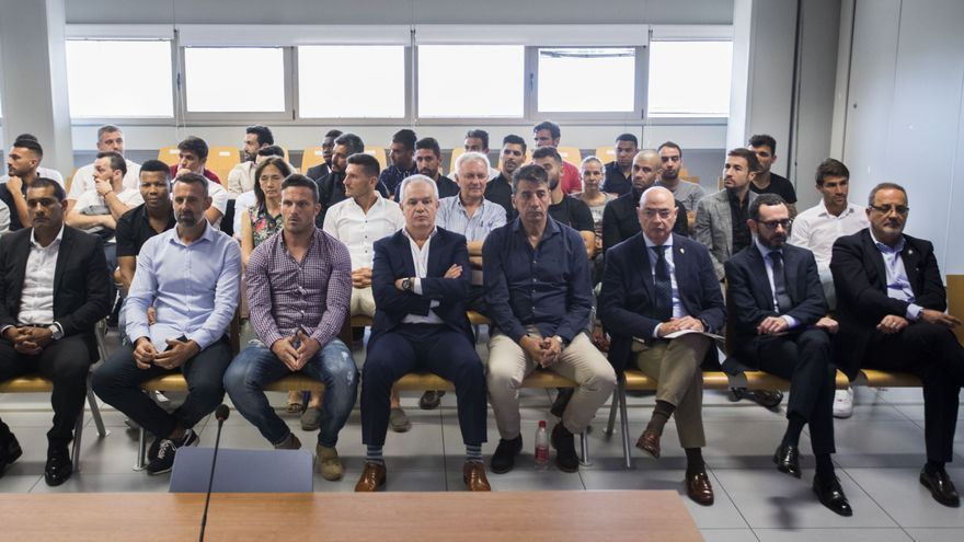 La Audiencia Provincial mantiene el veredicto en el Levante-Zaragoza y absuelve al bermellón Reina