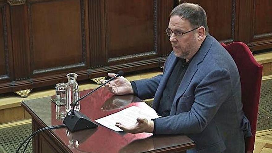 El TS prohibeix a Junqueras sortir de la presó per jurar el càrrec d'eurodiputat