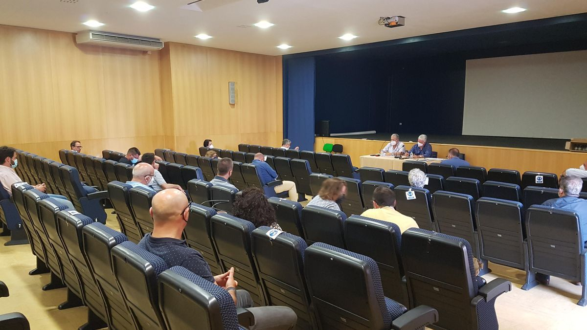 Reunión de la mancomunidad de los Pedroches en Alcaracejos