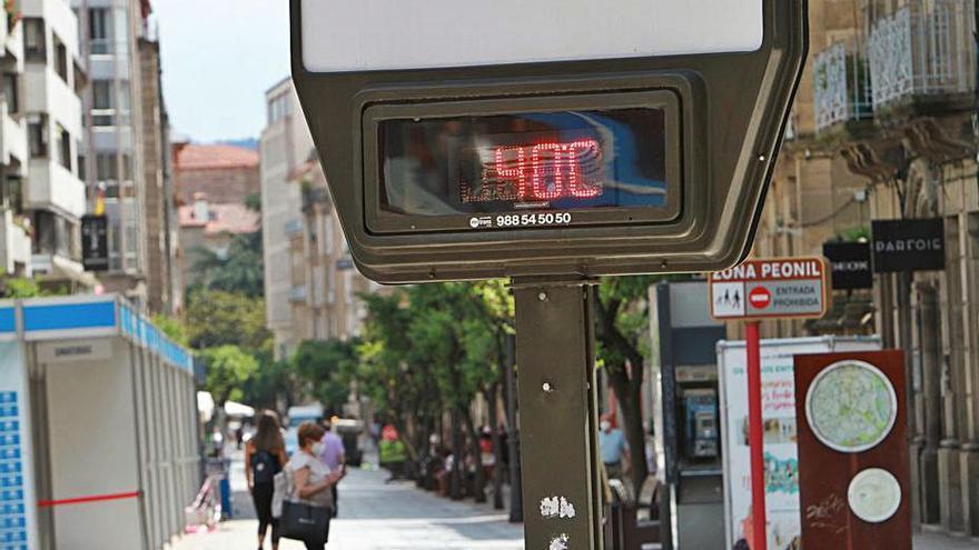 Ourense despide mayo a 35º y con los embalses por debajo de su media habitual