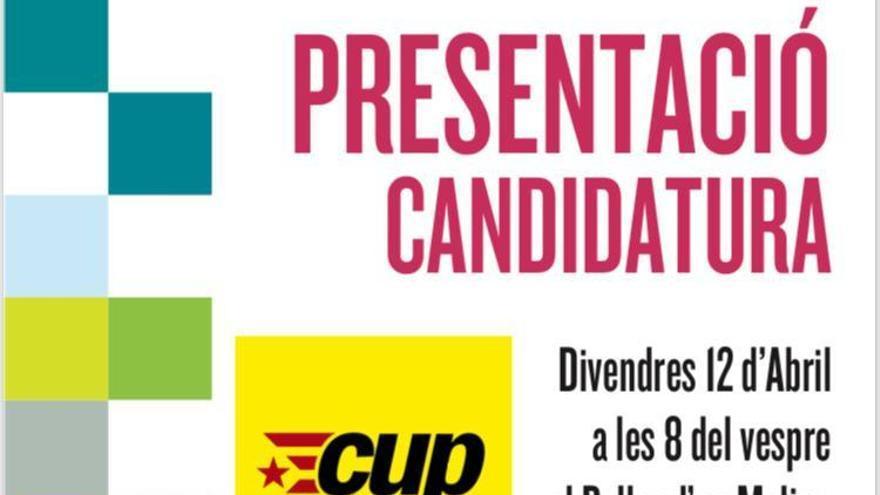 L'assemblea local de la CUP Castelló decideix presentar candidatura
