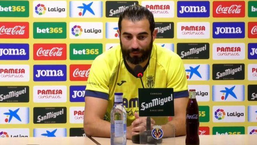 Albiol muestra el camino al Villarreal para enderezar el rumbo, el capitán habla claro