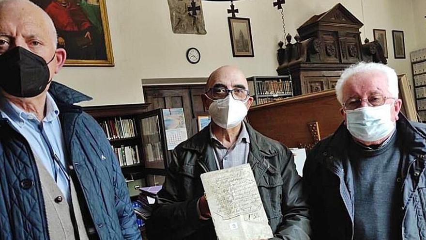 Encuentran en la Catedral la Carta Puebla original de Las Regueras