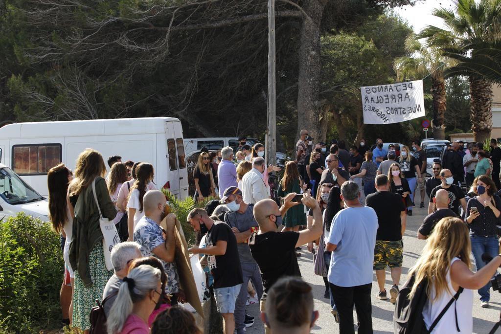 Los vecinos del Don Pepe quieren evitar el desalojo