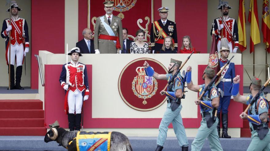 El desfile del 12 de octubre costó 912.000 euros, un 30% más que en 2018