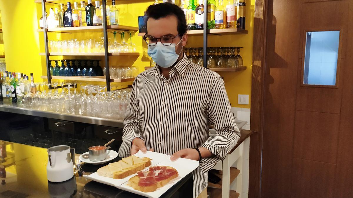 Trabajador de empresa de hostelería de Monesterio
