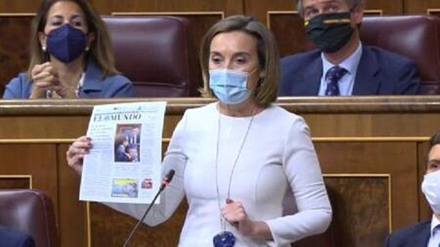 """Gamarra a Calvo: """"Están de los nervios porque la mala gestión de la pandemia se los lleva por delante"""""""