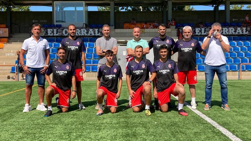 Un staff tècnic de renom internacional, al Campus Girona FC que es fa a Roses
