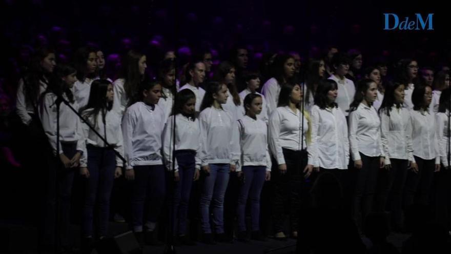 La magia se apodera del Auditorium con el Concert de Nadal de las corales de la UIB