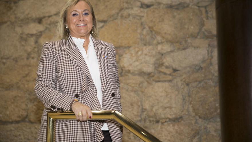 Mercedes Fernández pide en el Senado que se reactive la autopista del mar