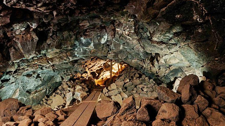 El resultado de la investigación de la cueva de Villaverde se expone en el Museo Canario