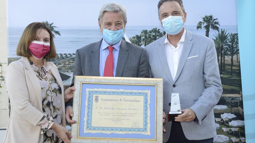 Torremolinos homenajea a Salvador Moreno Peralta en el XXXII Día del Turista