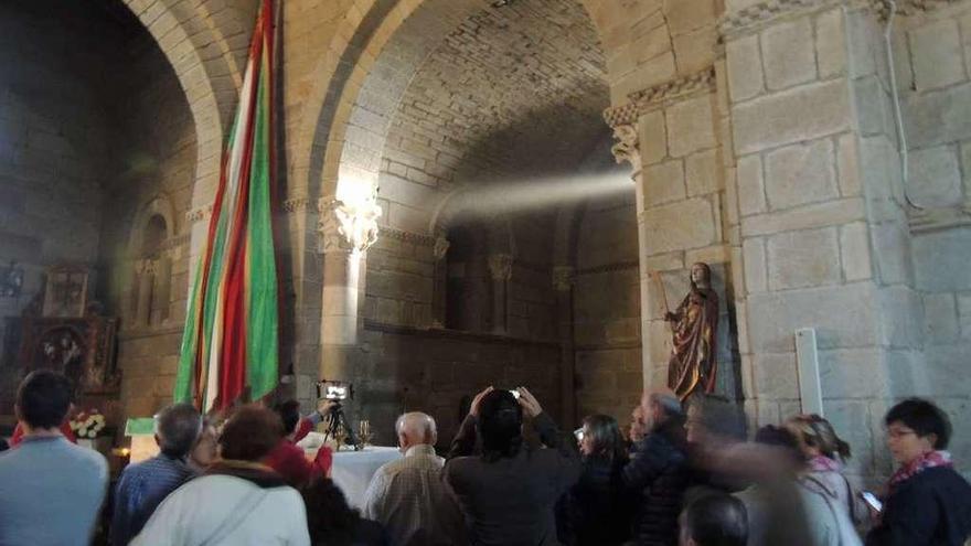La iglesia de Santa Marta se abre el día 18 para recibir al equinoccio de primavera