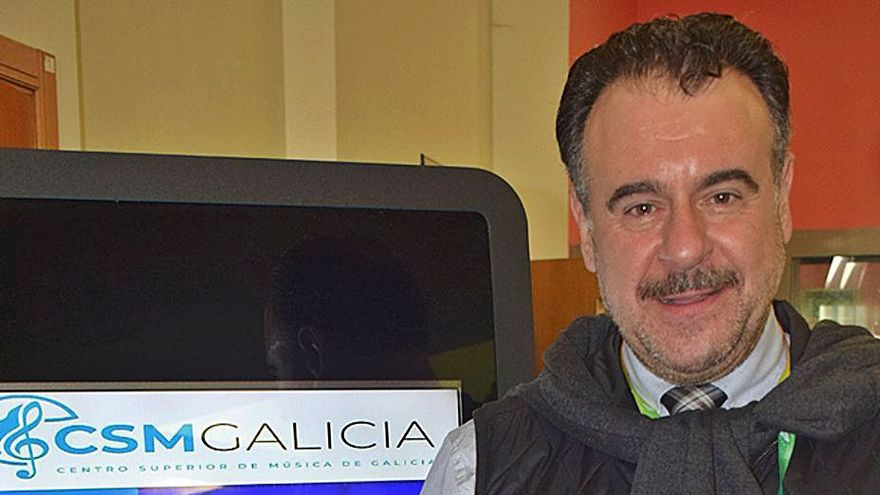 El barítono Carlos Álvarez, otra figura de la música que da muestra de su clase en Valga