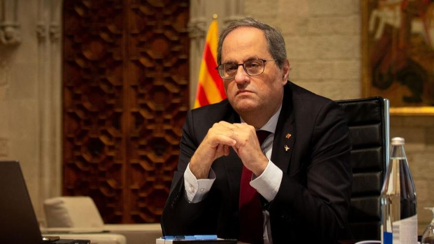 La Generalitat considerará efectiva la inhabilitación cuando sea notificada a Torra