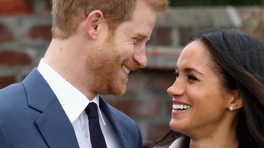 Dos vestidos y un padrino real para una boda de Hollywood