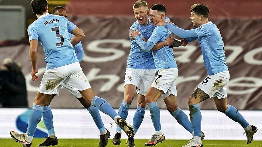 El Manchester City da un golpe letal