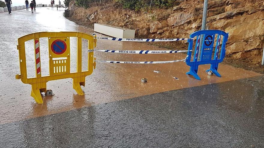 El vandalismo golpea de nuevo el enclave turístico de la zona de la Cruz de Benidorm