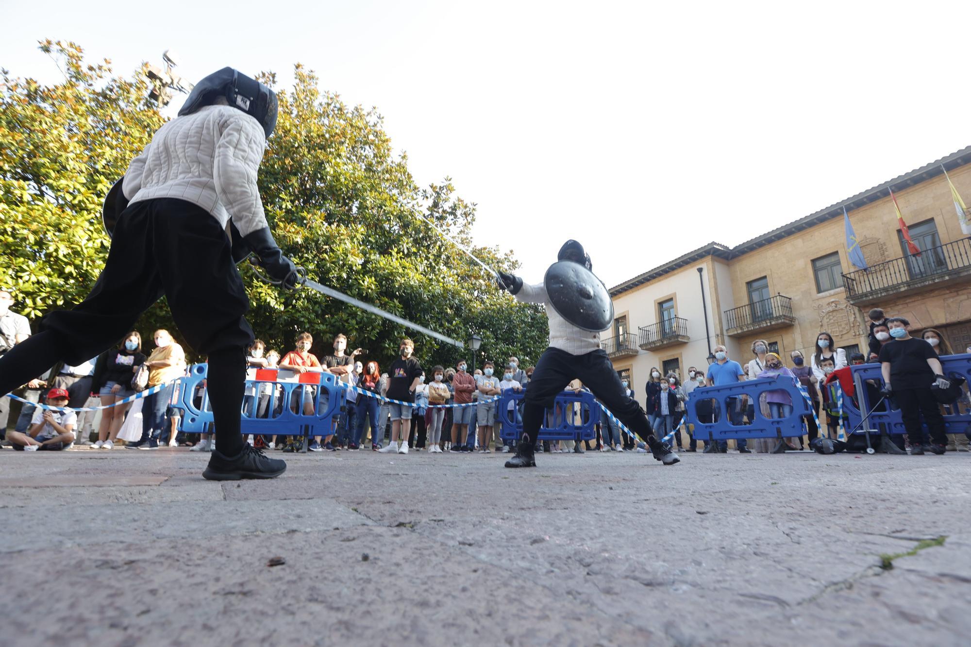 Oviedo revive su pasado medieval
