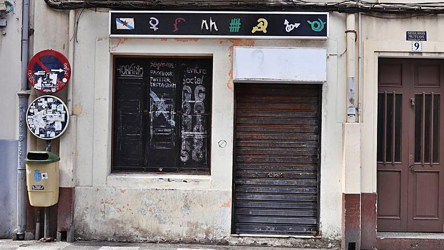 Urbanismo cierra el centro social Gomes Gaioso al carecer de declaración responsable