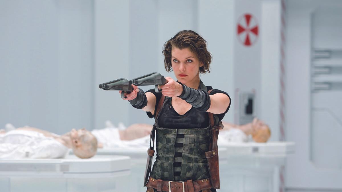 Milla Jovovich en 'Resident Evil: Ultratumba'.