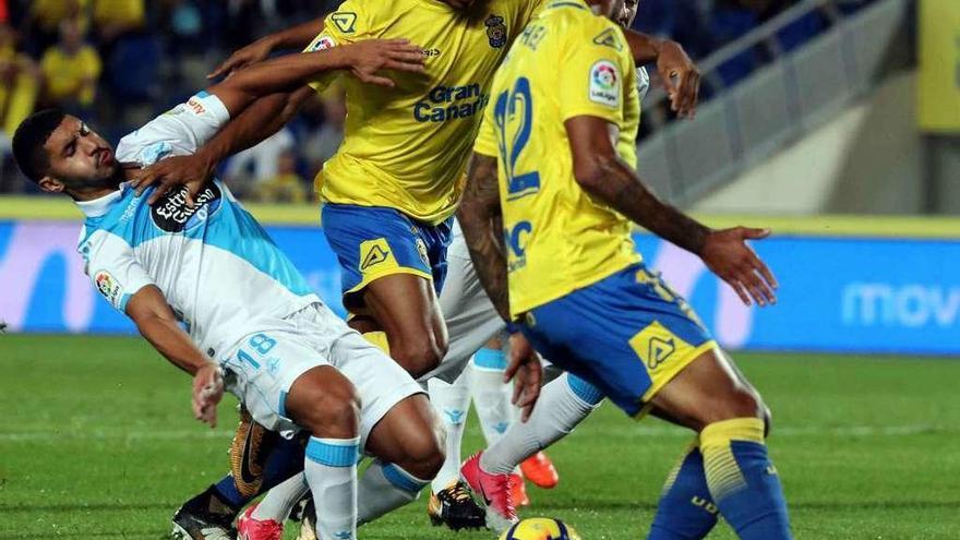 Parralo endereza el rumbo del Deportivo