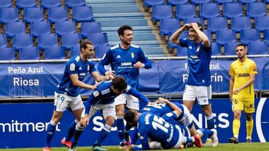 El Carlos Tartiere, territorio 'maldito' para el Málaga CF