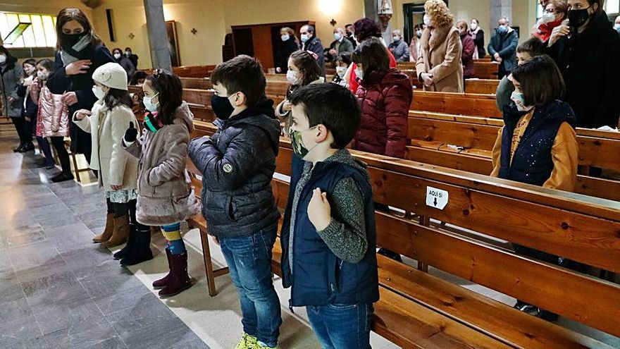 Entrega de premios del concurso de belenes en la iglesia San Agustín