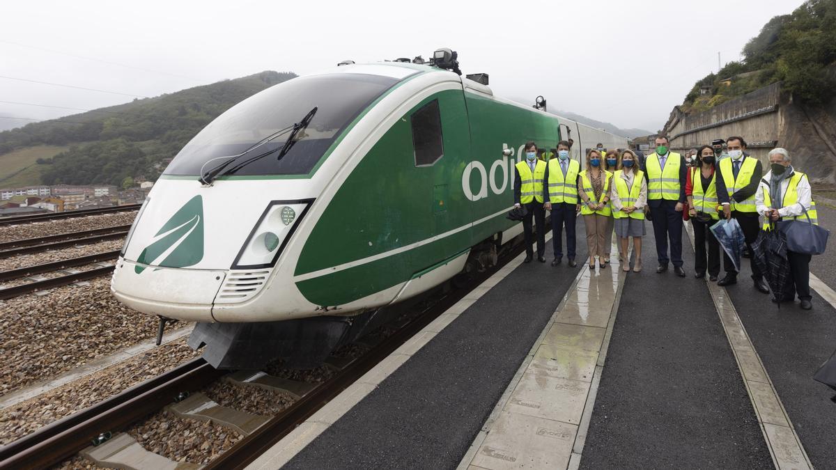 Día histórico para Asturias: Adif inicia las pruebas en los túneles de la variante de Pajares