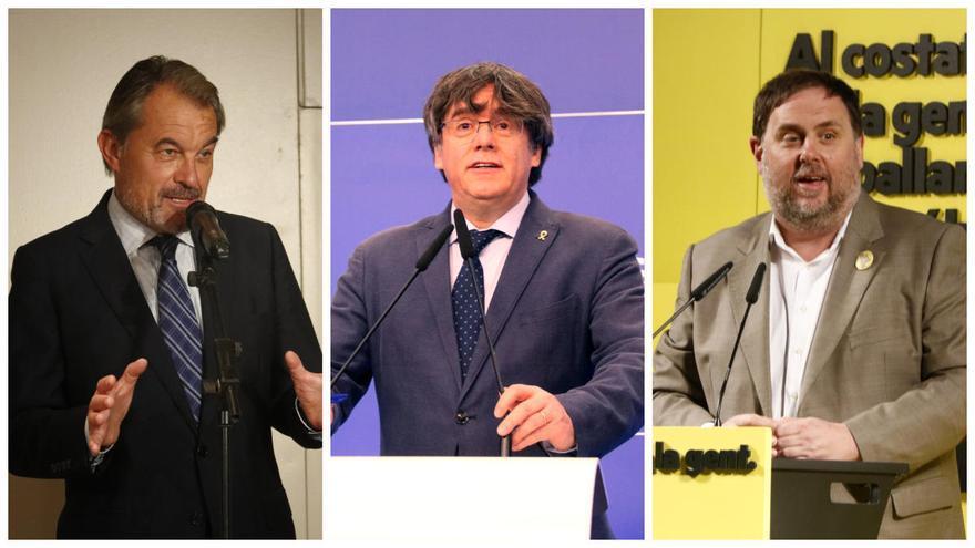 El Tribunal de Comptes cita Mas, Puigdemont i Junqueras per les despeses del Diplocat durant l'1-O
