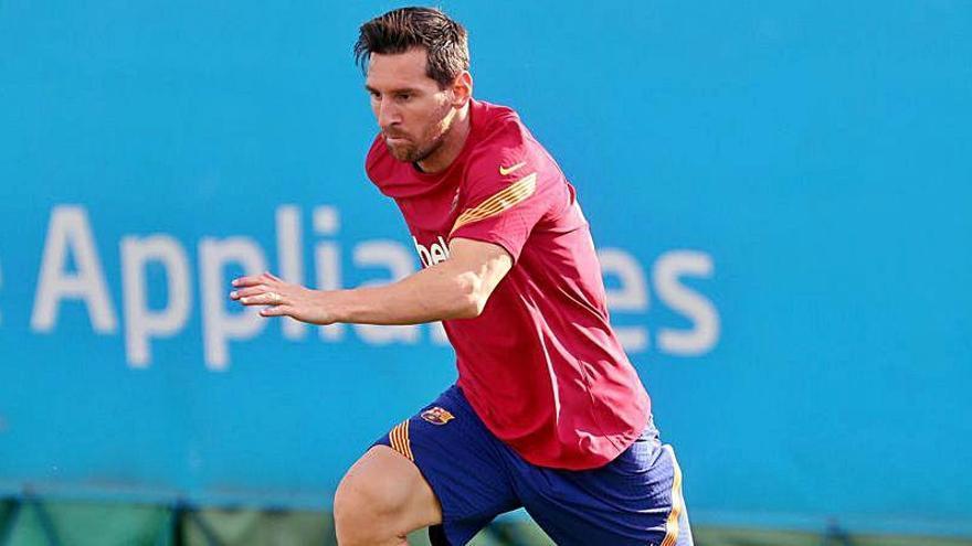 Messi se machaca en su día libre