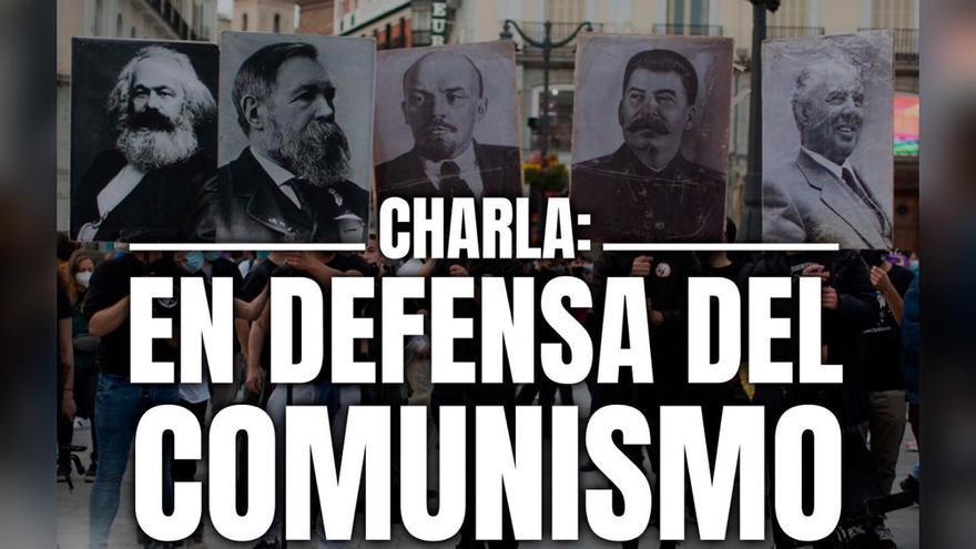 Vox se revuelve ante una charla en defensa del comunismo en Murcia