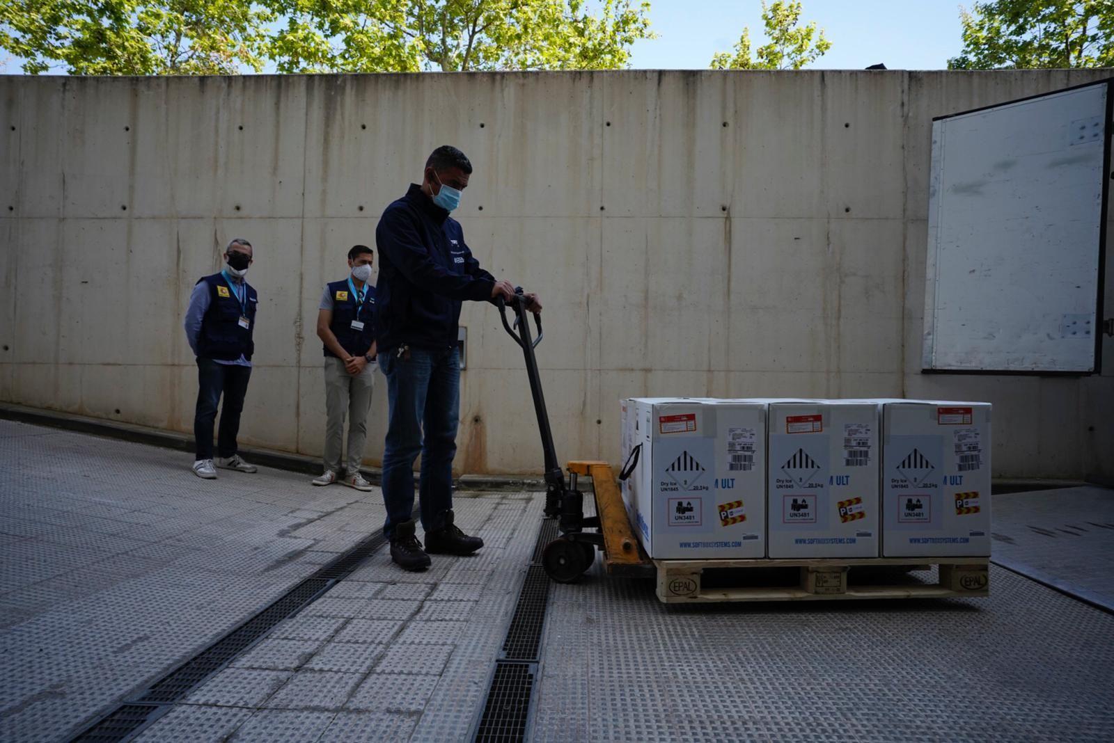 Nuevas dosis de la vacuna Pfizer llegan a la Comunitat Valenciana