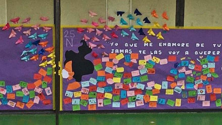 El alumnado dice no a la violencia