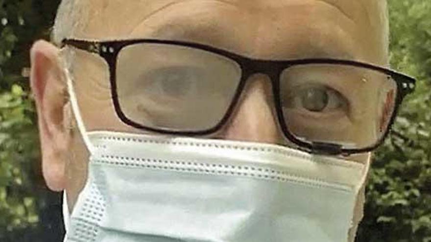 Un cambrés patenta un método que evita que las gafas se empañen con la mascarilla