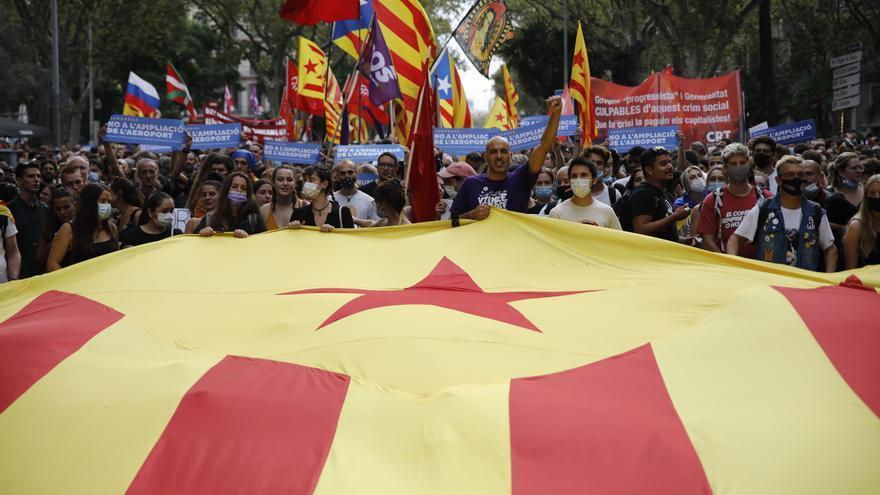 Un jove independentista denuncia una agressió ultra durant la Diada a Barcelona