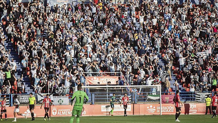 Play-off a Segunda A | El Badajoz buscará el ascenso ante el Amorebieta