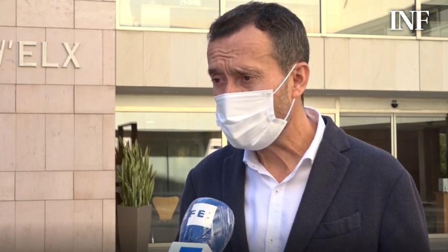 VÍDEO: Declaraciones del alcalde de Elche, Carlos González, tras las restricciones de Sanidad por el Covid en el municipio