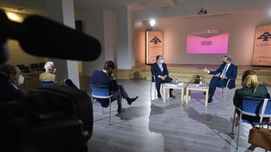 """Augusto Hidalgo: """"Las Palmas de Gran Canaria puede crecer de forma sostenible y crear empleo"""""""
