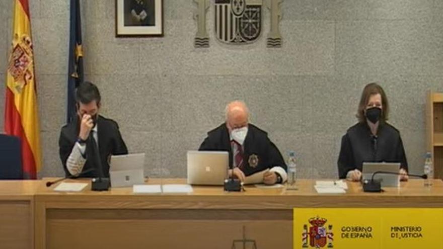 Cospedal, Álvarez Cascos y Arenas declaran en el juicio de la caja b